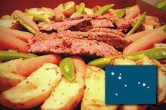 Brenyen Steak in Manthem Wine Sauce - a Scurnish recipe Wine Sauce, Tuna, Steak, Fish, Recipes, Rezepte, Ripped Recipes, Atlantic Bluefin Tuna, Recipe