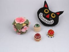 pin cushions, lol I've made two of those.