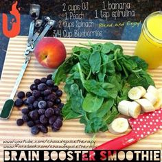 Brain Boosting Smoothie Recipe » The Homestead Survival