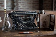 Vintage Steampunk, Writing Ideas, Typewriter, My Dream, Photographs, Dreams, Cool Stuff, Tips, Books