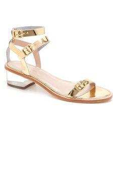 Loeffler Randall Heddie Lucite Heel Sandals-Transparent See-Through