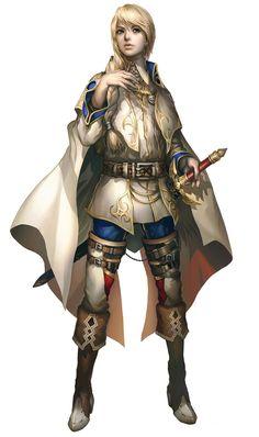 Valen Kessler from Dragoneer's Aria