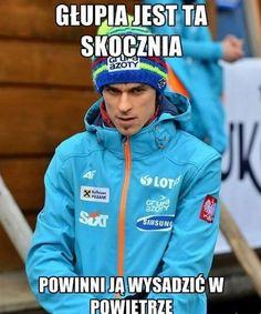 """Witam , pewnie spodziewałeś/aś się już dawno przeterminowanego """" git… #losowo # Losowo # amreading # books # wattpad Ski Jumping, Skiing, Rain Jacket, Windbreaker, Lol, Jumpers, Memes, Funny, Sports"""