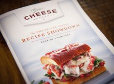 It's time! Enter the 2014 Grilled Cheese Recipe Showdown at www.grilledcheeseacademy.com and you could WIN $10K!