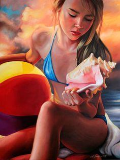 Kathrin Longhurst (1971 - …) – Pintora Alemã_3