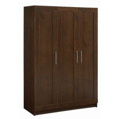 "Amazon.com: Armoire Finish: Walnut: Furniture & Decor 72.2"" H x 48.2"" Wx 21"" D"