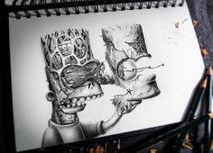 Terrific Sketchbook Works by Pierre-Yves Riveau