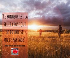 Citation Bonheur Albert Schweitzer via Sophie Turpaud | Expert Pinterest [Formatrice et social média manager Freelance]… itz-my.com