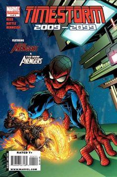 Timestorm 2099 # 4 by Tom Raney & Scott Hanna Marvel 2099, Marvel Dc, Marvel Comics, Marvel Comic Books, Comic Books Art, Gi Joe, Comic Book Grading, Infinity Watch, New Avengers