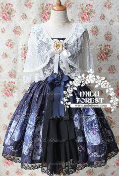 Sweet Summer Night Jsk Milu Forest JSK Lolita Dress
