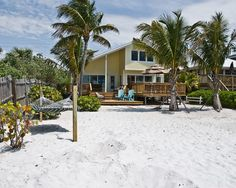 Fort Myers Beach House Rental: Beautiful Beachfront Home With Large Deck On The Gulf Of Mexico | HomeAway