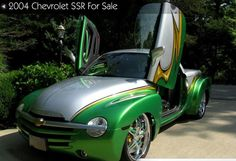 Chevrolet SSR for sale Top shelf custom . Chevy Ssr, Chevy Trucks, Cool Trucks, Cool Cars, Kustom, Custom Cars, Recreational Vehicles, Cars For Sale, Hot Rods