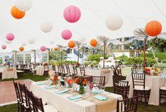Photography: Fidelio Photography - www.fideliophotography.com  Read More: http://www.stylemepretty.com/2014/10/09/vibrant-summer-maine-island-wedding/