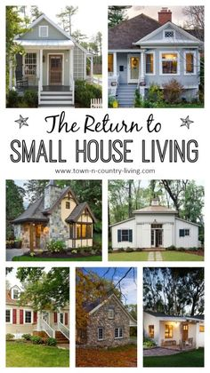 Collection of 10 ideas for small house living.