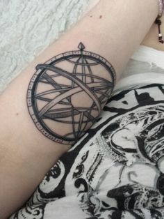 New tattoo ! I love it  Sphère armillaire