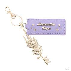Samantha Thavasa サマンサベガ プリンセスアビー キーチャーム ラプンツェル(ラベンダー) -靴とファッションの通販サイト ロコンド