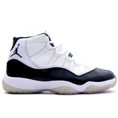 7dfe04312f0ad9 women men jordan shoes for sale Air Jordan 11 Retro White Black Dark Concord