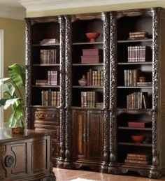 bookcase decorating ideas | ... is to incorporate a library bookcase these bookcases are fantastic