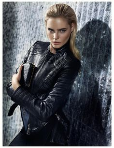 leather jacket Gizia Fall/Winter 2013-14 #Gizia