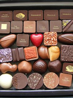 Chocolates and a Heart one :)