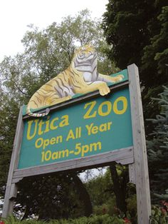 Utica Zoo in Utica, NY.  We lived just a few blocks from there and we could hear the animals!
