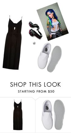 """""""Untitled #535"""" by black-337 on Polyvore featuring River Island, Vans and Agonist"""