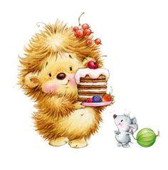 Egeltje - Cake