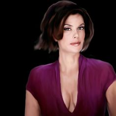 Retrato Photoshop    Teri Hatcher