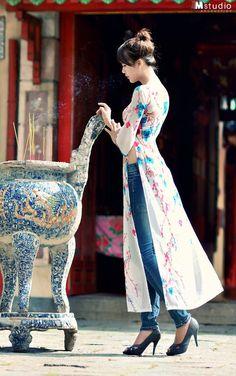 modern ao   http://myvietnamstylesphotos.blogspot.com