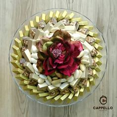 Chocolate arrangement