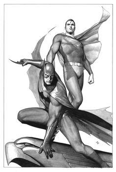 Batman and Superman by Adi Granov