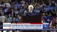 ABC: Clinton Mocks Sanders' Speaking Style | TT News