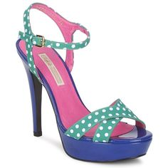Chaussures fun et colorées