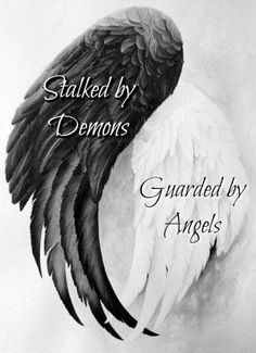 This fits my heart and mind in a way. The same disorder that suffocates the soul also strengthens it. You can't slay the demon without also slaughtering the angel. My Demons, Angels And Demons, Dark Angels, Wallpaper Bonitos, Jolie Phrase, Ange Demon, Angel And Devil, Sad Angel, Angels Among Us