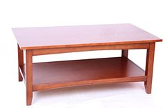 Alaterre Shaker Cottage Coffee Table, Cherry
