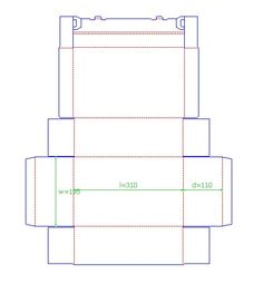 Free box templates - Could be used to make Sil cut files
