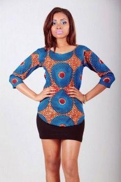 blusas de capulana da moda