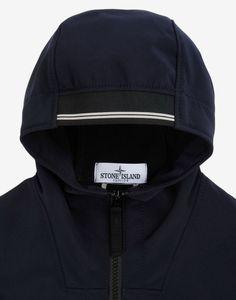 40330 SOFT SHELL R Mid Length Jacket Stone Island Junior - Stone Island Online Store