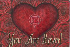 You Are Loved Art Print by Francesca Love Artist ~ ThePowerOfLoveART on Etsy
