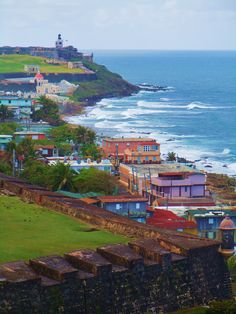 San Juan, Puerto Rico. What color and beauty. I can't wait to see you!!