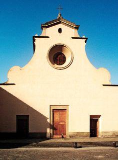 The Basilica of Santa Maria del Santo Spirito