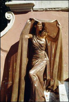 Ferdinando Scianna 1989 ITALY,Rome: Fashion story with MARPESSA