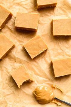 3-Ingredient Peanut Butter Fudge #GlutenFree