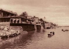 Baghdad, the Karkh district on the Tigris River in the twenties.