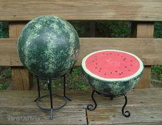 ThreeOldKeys: Melon Balls, Bowling Balls, Yard Art