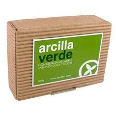Jabon de Arcilla Verde - Ajedrea Cosmetica Natural