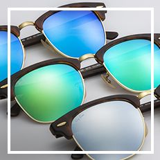 Ray-Ban Clubmaster Classic Flash Lenses | Valentine's gift for anyone | Ray-Ban USA Official Site