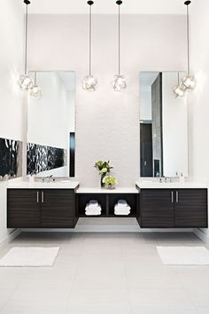 """View this Great Contemporary Powder Room with Master bathroom & Flush by Nina Magon. Discover & browse thousands of other home design ideas on Zillow Digs."""