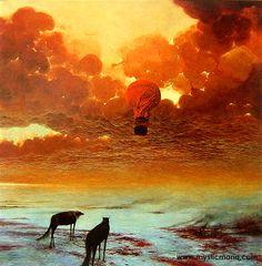 Zdzislaw Beksinski. These colors are beautiful