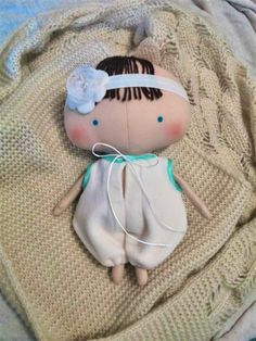 Baby girl Soft baby doll Baby girl gift  Dolls by HandmadeToyStore